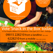 VOTE SNACK IN THE BOX TODAY!